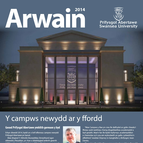 Cover of Arwain 2014