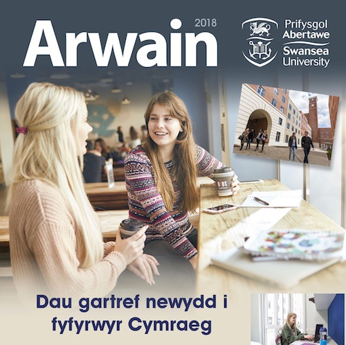 Cover of Arwain 2018 Spring edition