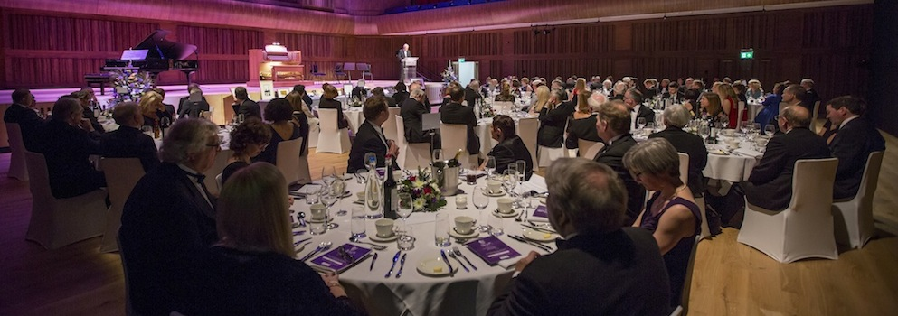 An image of the Great Hall during the Grand Dinner