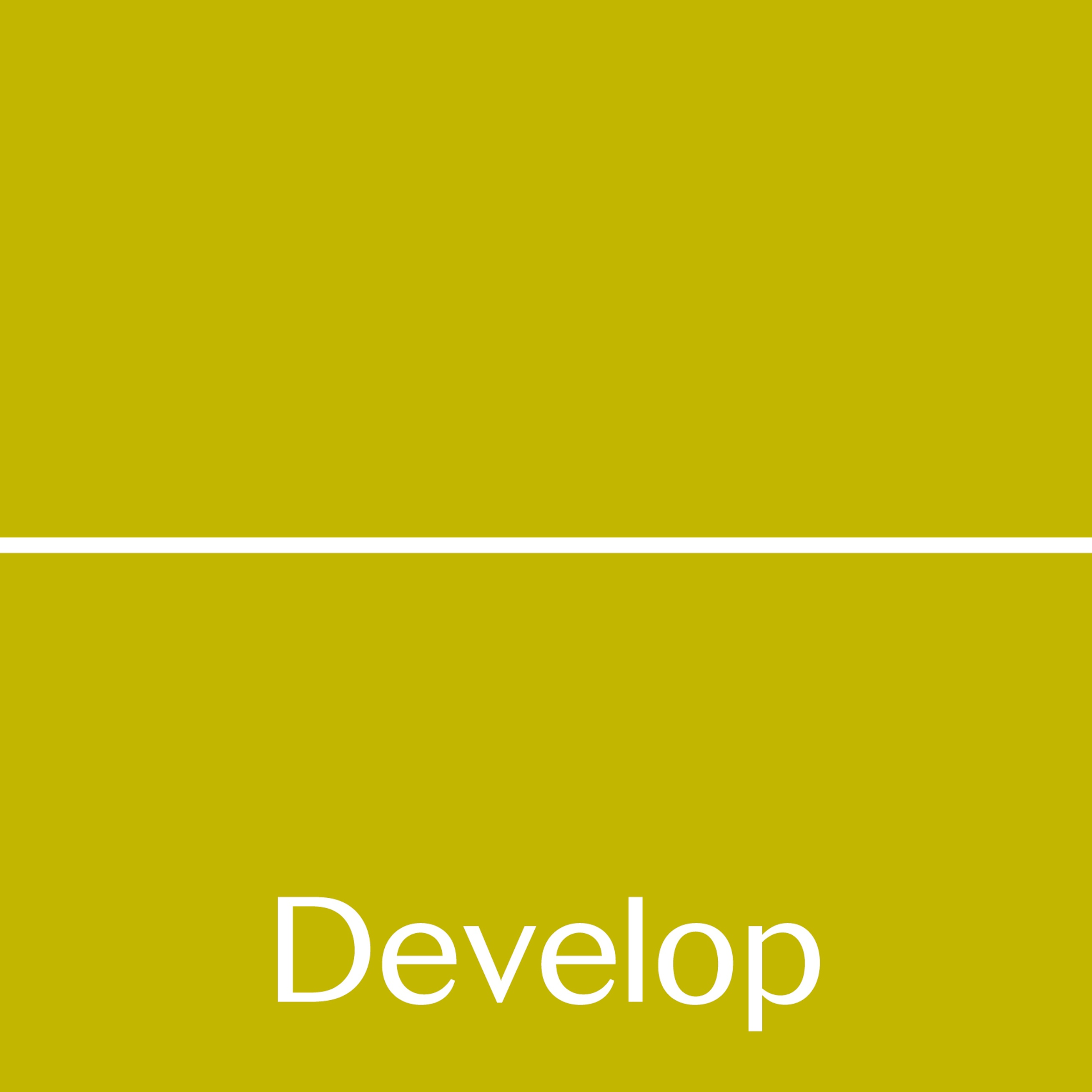Develop logo