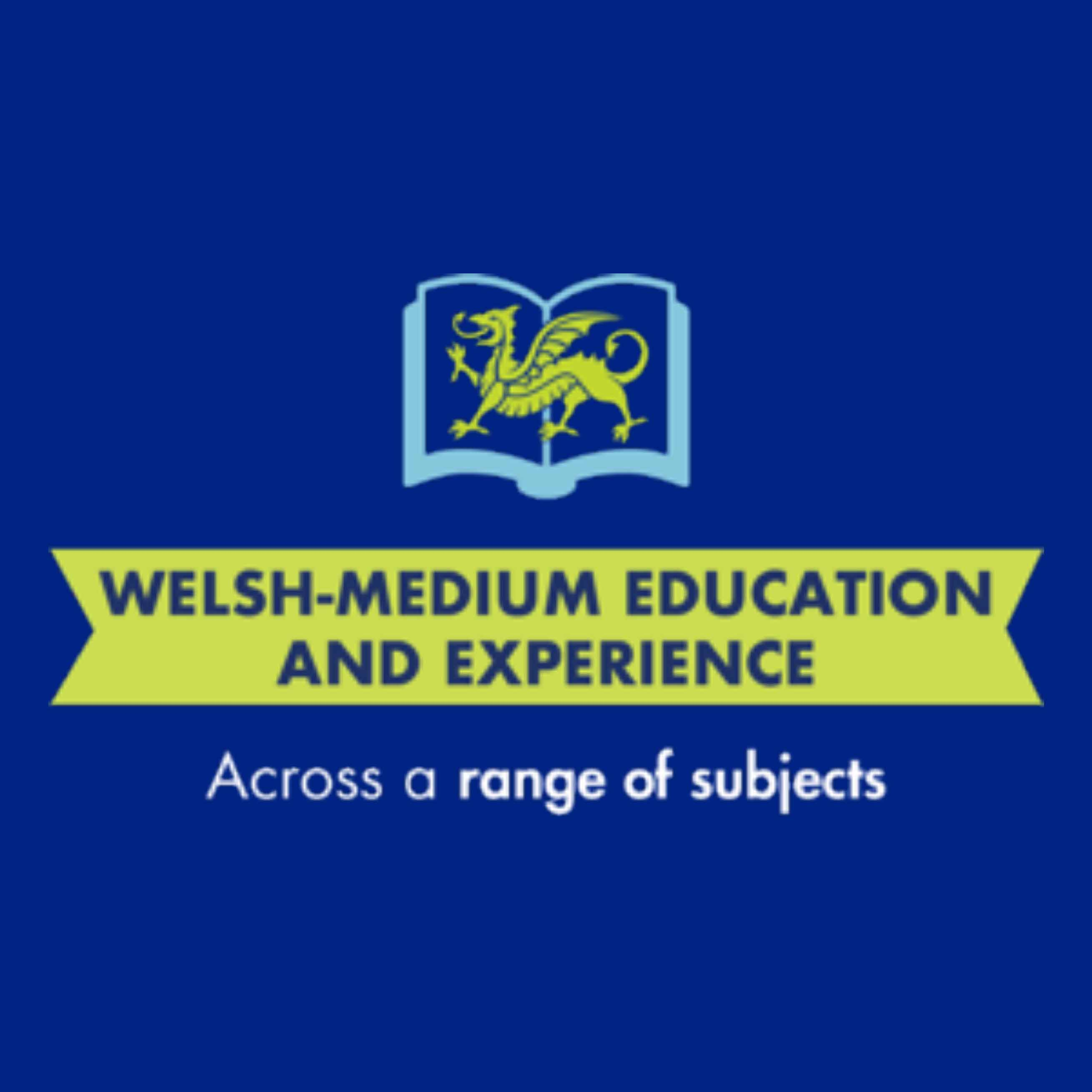 Welsh-medium education and experience across a range of subjects
