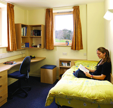 Bedroom in Horton residence Singleton Park Campus