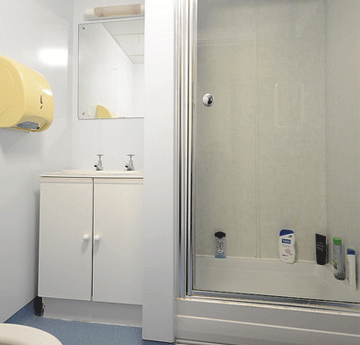 Bathroom in Kilvey or Rhossili residence Singleton Campus