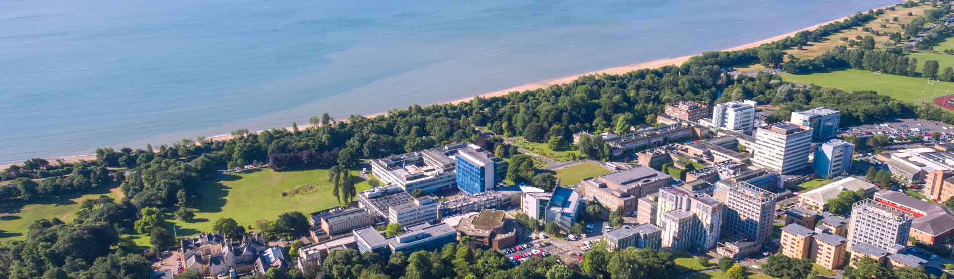 Landscape image of Swansea University