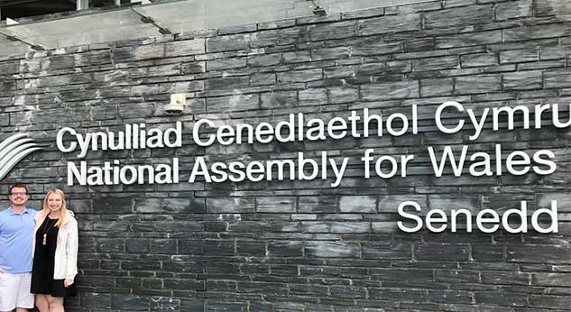 Gandy at National Assembly for Wales