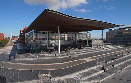 Image of the National Assembly for Wales building
