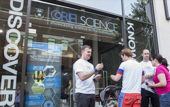 Partner with Oriel Science to help showcase science in the community
