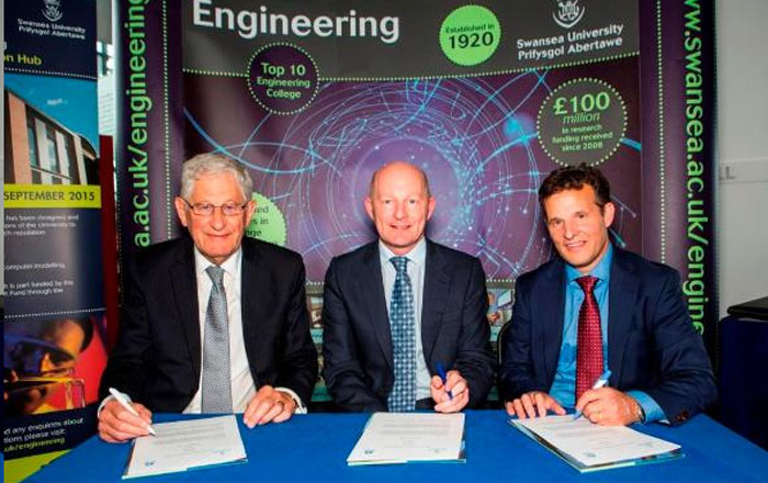 Tata Steel and Swansea University sign agreement to develop graduate talent