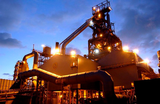 Decarbonising the steel-making process