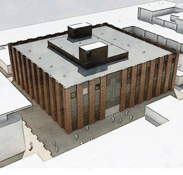 Graphic of the CISM building plan