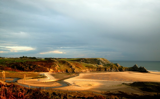 Three cliffs bay - TRANSLATE