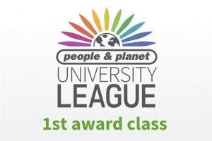 Logo People and Planet University Green League