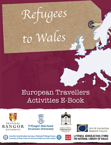 Cover of a book with a map of Wales