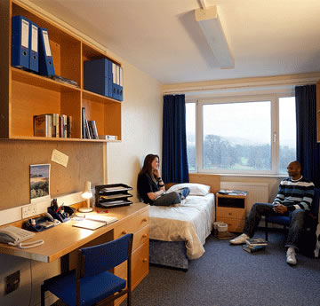Cefn Bryn residence Singleton Campus bedroom