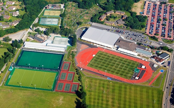 Arial view of international sports village