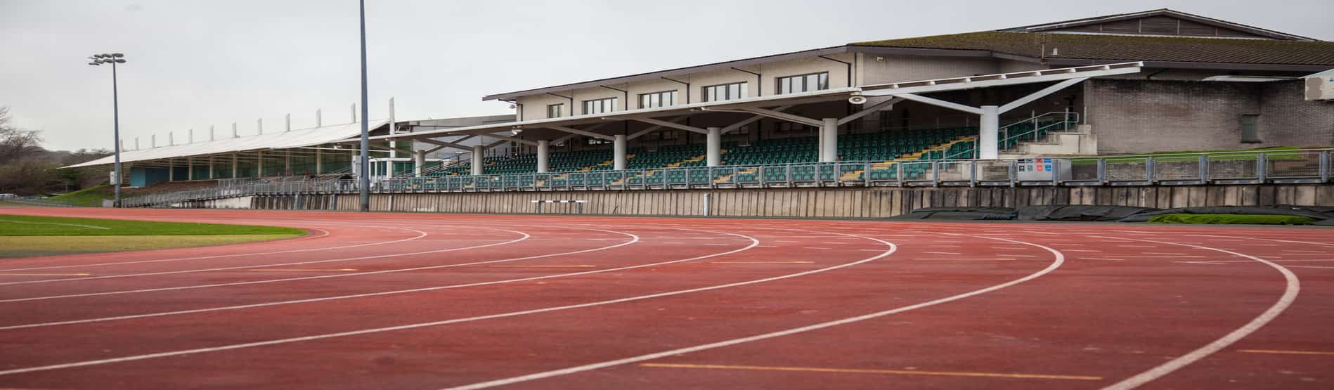 Image of track at international sports village