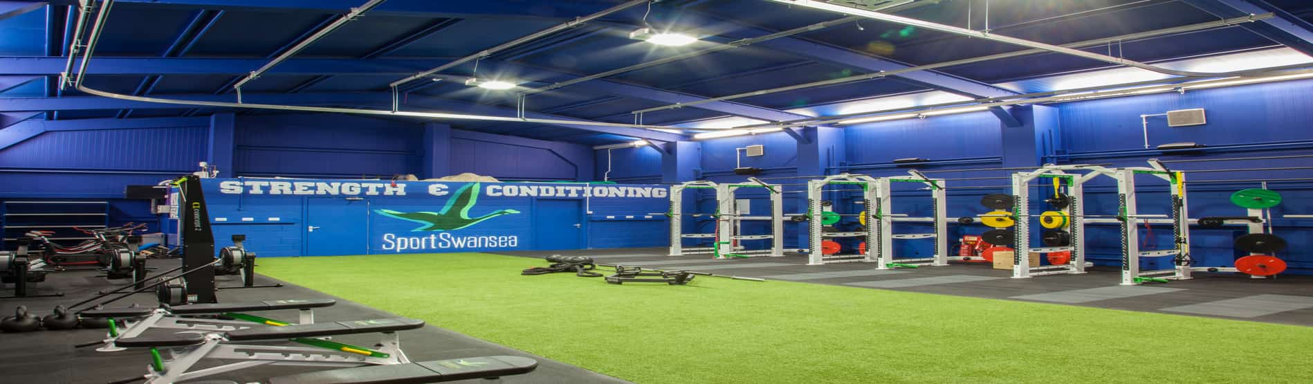 Image of The Shed, the universities elite strength and conditioning unit