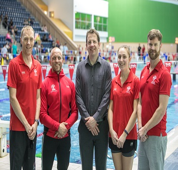 The Swim Wales Coaching Team photo