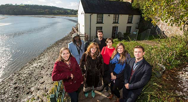 2014 Winner and Finalists at Laugharne