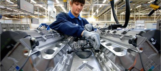 Female Engineer in Manufacturing Industry