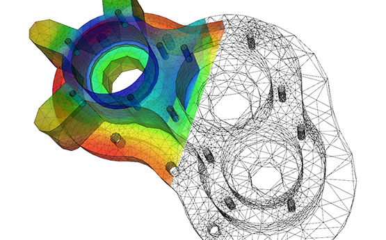 Finite Element Method on Mechanical Part