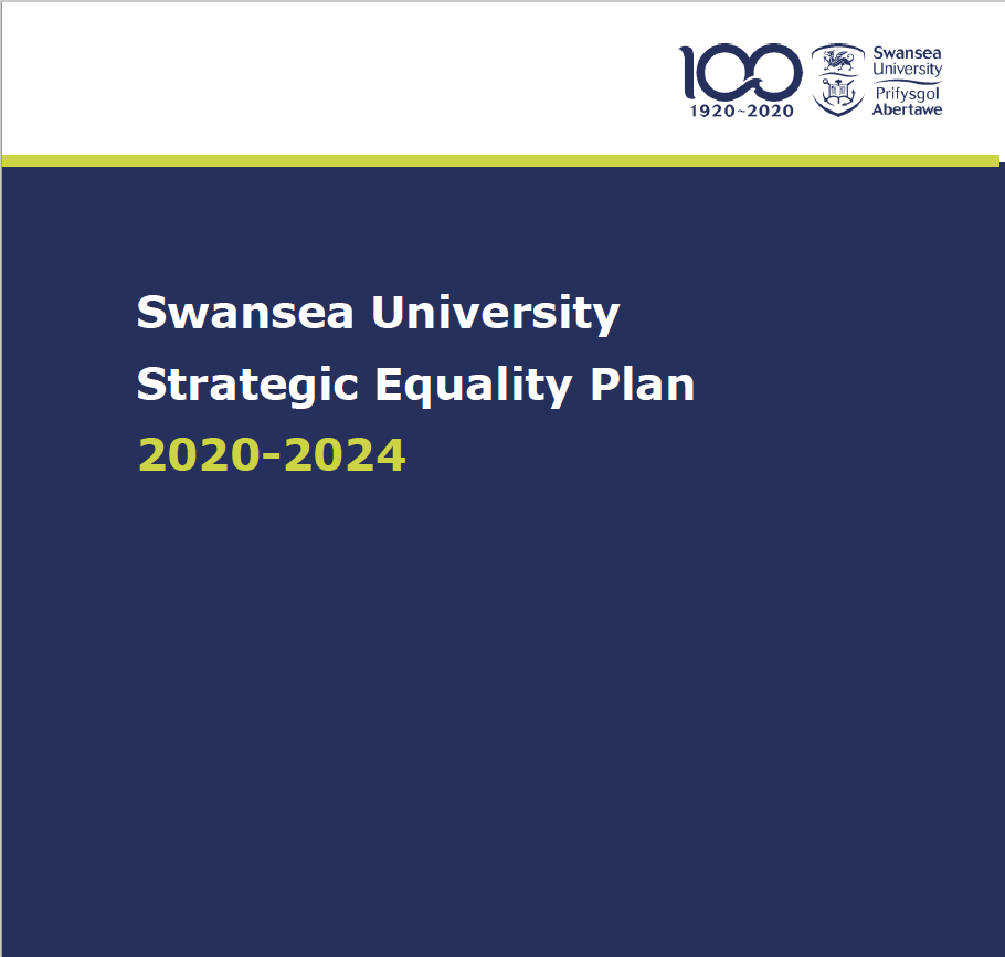 cover: Strategic Equality Plan 2020-2024