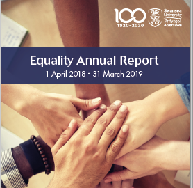Cover: Equality Annual report 2018/19