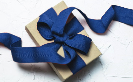 Image of present with a big bow
