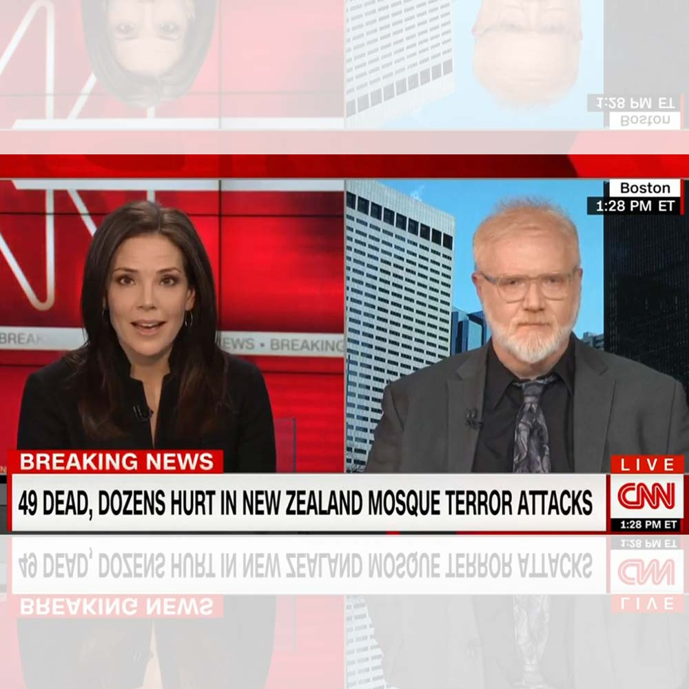 J.M. Berger discusses New Zealand terror attack with CNN