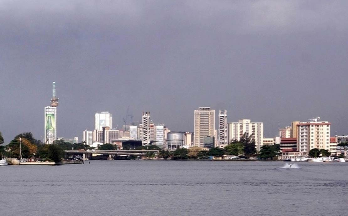 a panoramic view of lagos in nigeria