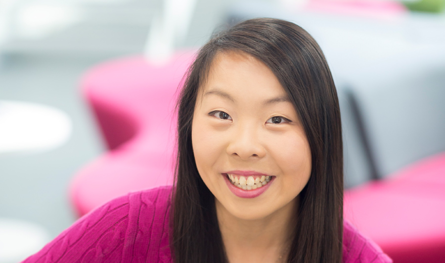 head shot of law student charmaine yip