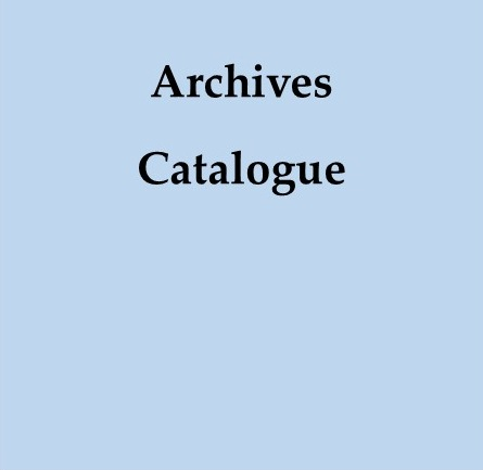 Search the Archives Catalogue