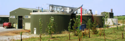 Anaerobic Digestion Facility based in Devon at Langage AD