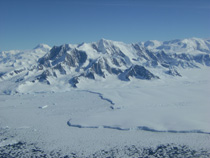 Antarctic glacier retreating 1