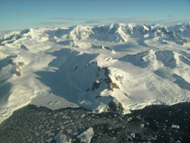 Antarctic glacier retreating 3