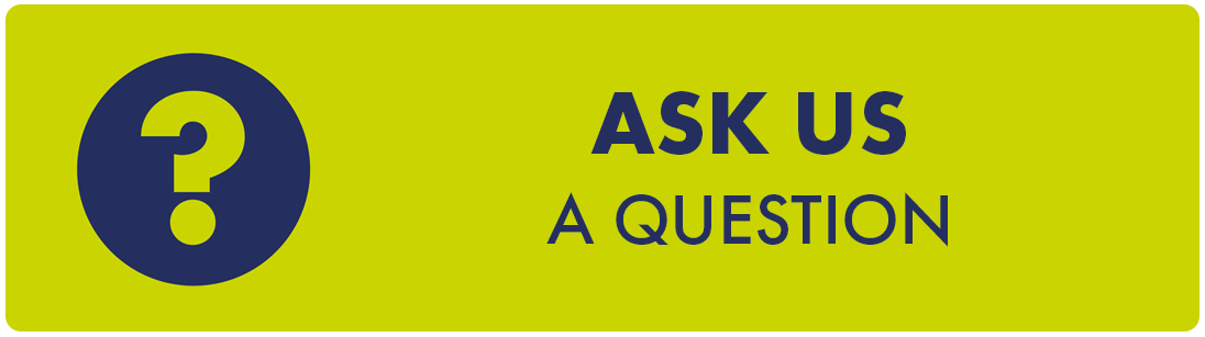Ask us a question using our Enquiry Form icon with a question mark symbol