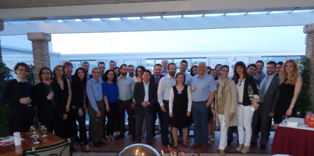 Alumni reception (Athens 2015)