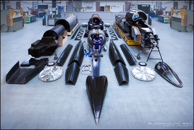 BLOODHOUND SSC EXPO image