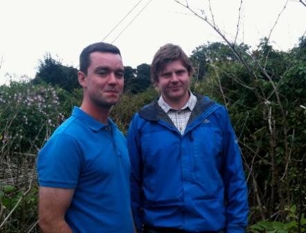 Dan Jones and Gareth Bruce - knotweed