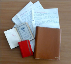 Richard Burton's diaries - different formats