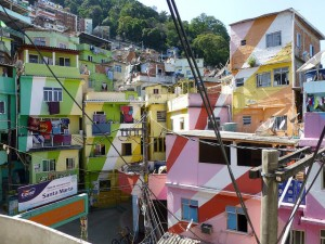 Dr Richard Smith - Favela Painting