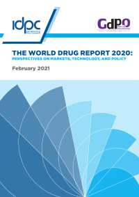 Drug report cover