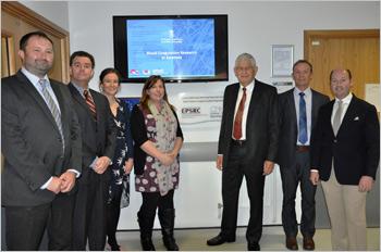EPSRC visit on World Thrombosis Day