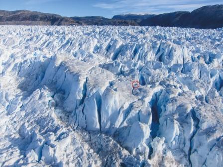Helheim glacier Greenland
