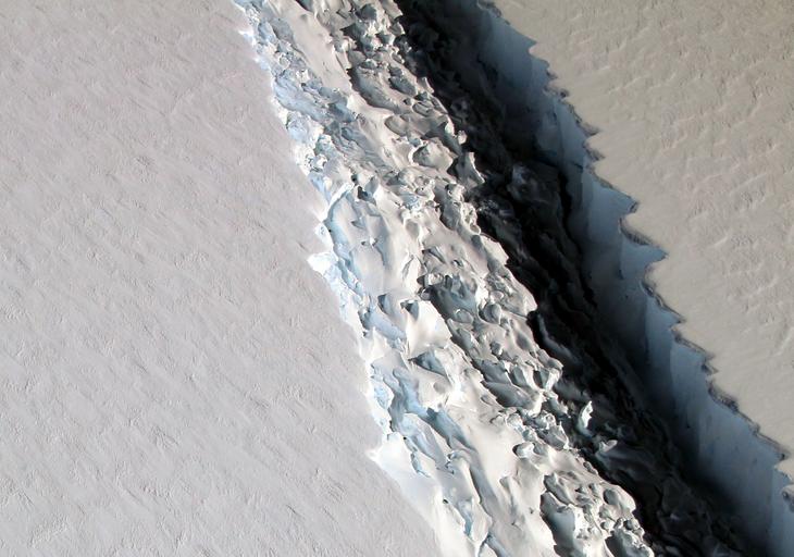 Ice rift