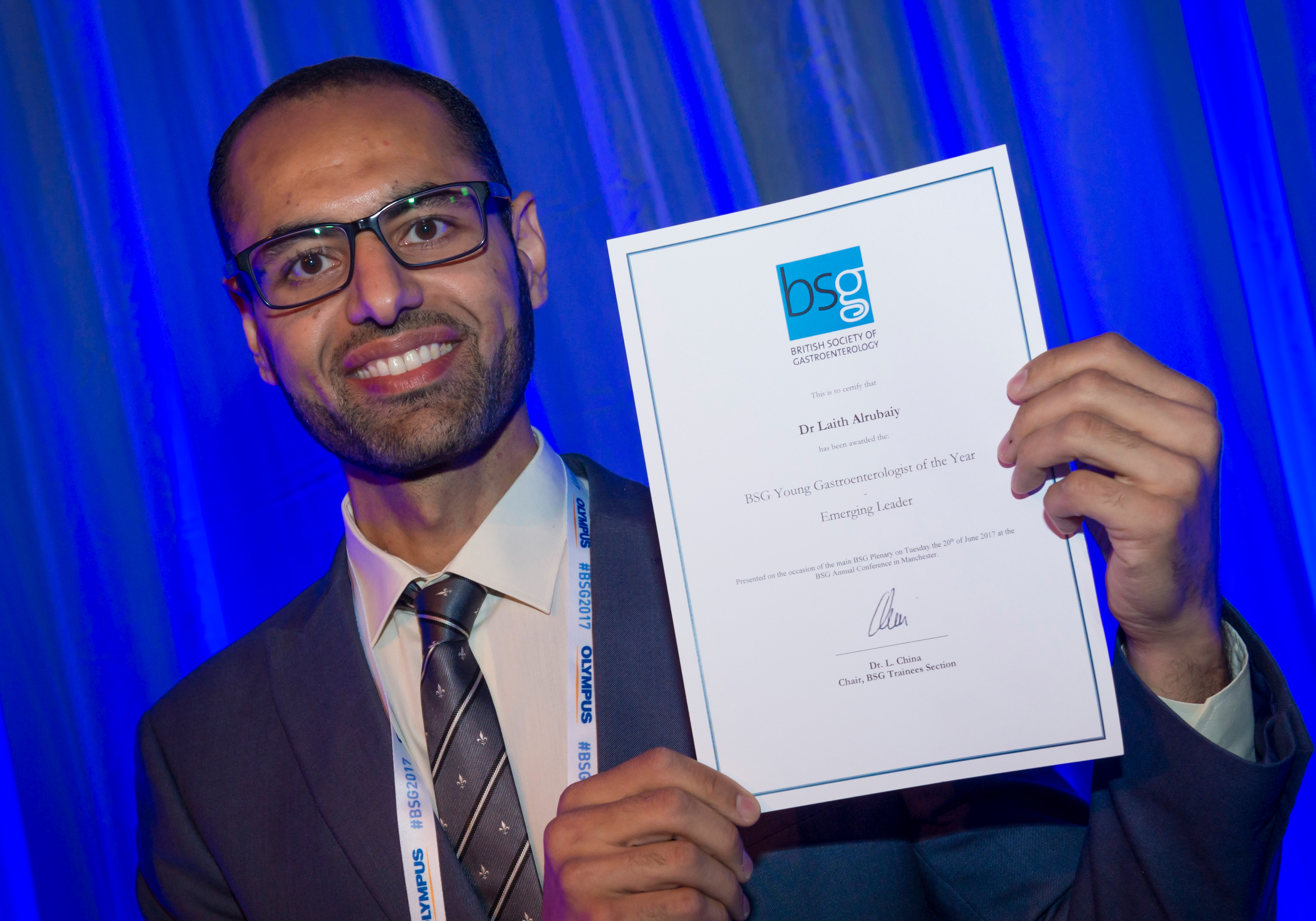 Swansea University lecturer wins BSG Young