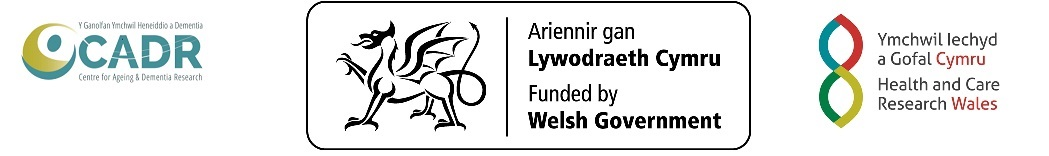 CADR, Welsh Government and HCRW logo