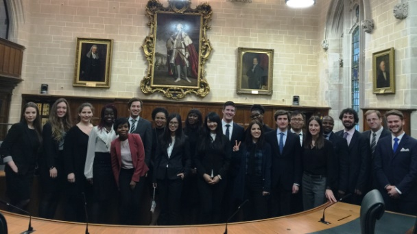 Supreme Court Mooting Group Picture