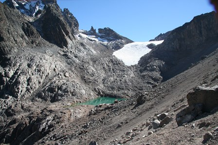 Mount Kenya courtesy of Hilde Eggermont