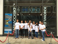 Oriel Science with ambassadors
